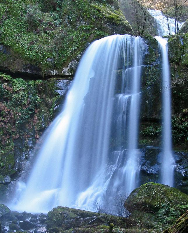 Elk Creek Falls Coos County Oregon Northwest Waterfall