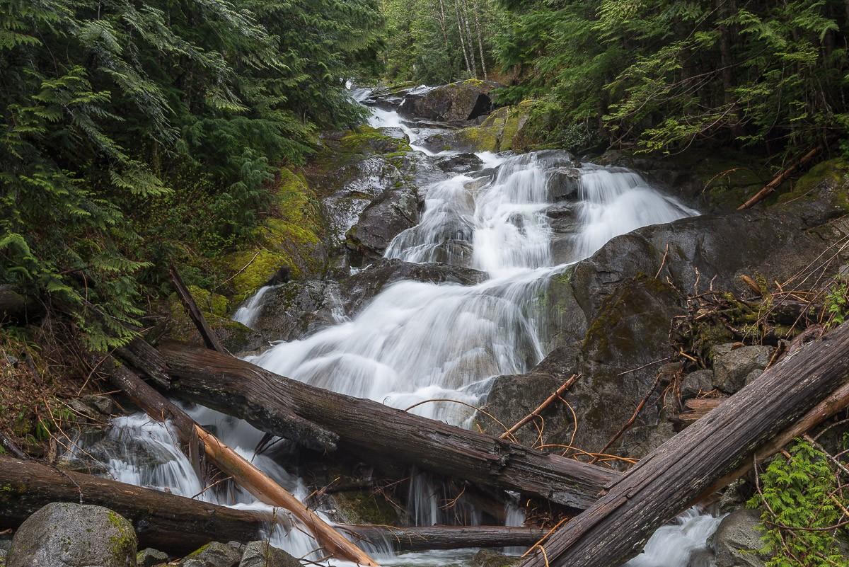 Anderson Creek Falls Washington United States World