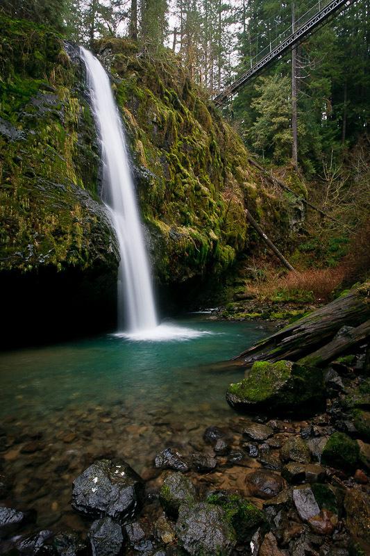 Drift Creek Falls Lincoln County Oregon Northwest