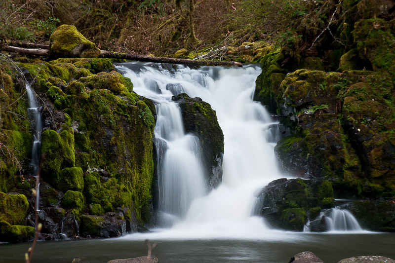 Crystal falls linn county oregon northwest waterfall for Crystal falls