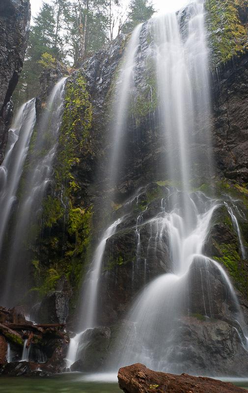 Henline Falls Marion County Oregon Northwest Waterfall