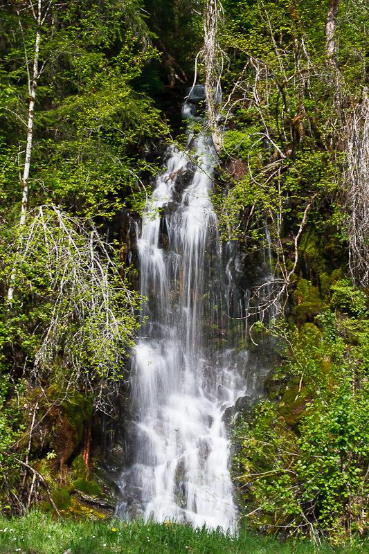 Panoramio - Photo of Dougan Falls Skamania County