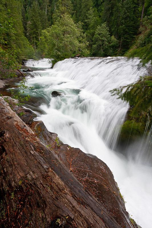 Upper Lewis River Falls Skamania County Washington