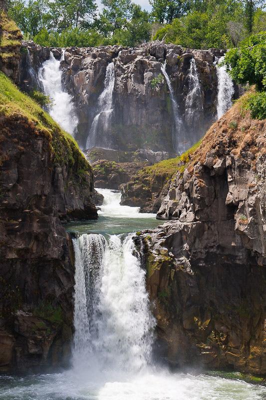 White River Falls Wasco County Oregon Northwest