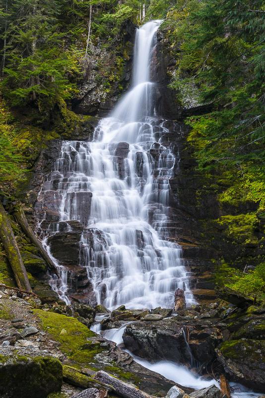 Cougar Creek Falls Snohomish County Washington