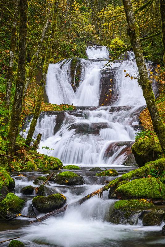 Twin Falls, Skamania County, Washington - Northwest