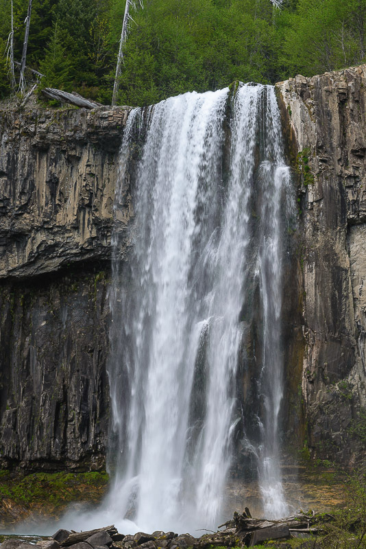Paradise Falls Skamania County Washington Northwest