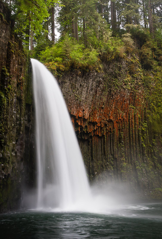 Abiqua Falls Marion County Oregon Northwest Waterfall Survey - Oregon waterfalls map