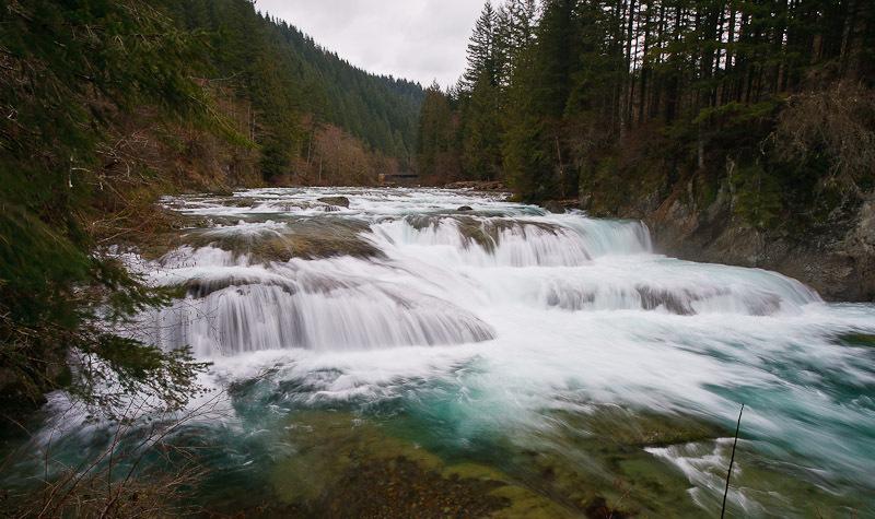 Naked Falls, Skamania County, Washington - Northwest