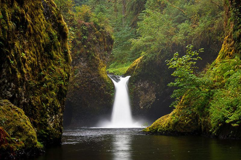 Punch Bowl Falls Hood River County Oregon Northwest