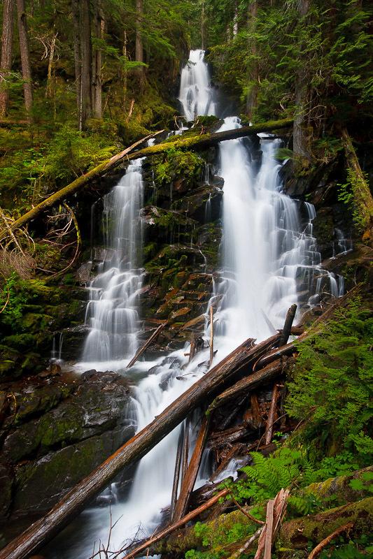 Ranger Falls green lake falls washington