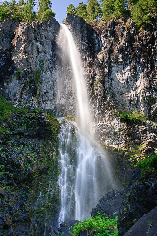 Falls Creek Falls, Skamania County, Washington. Photo by